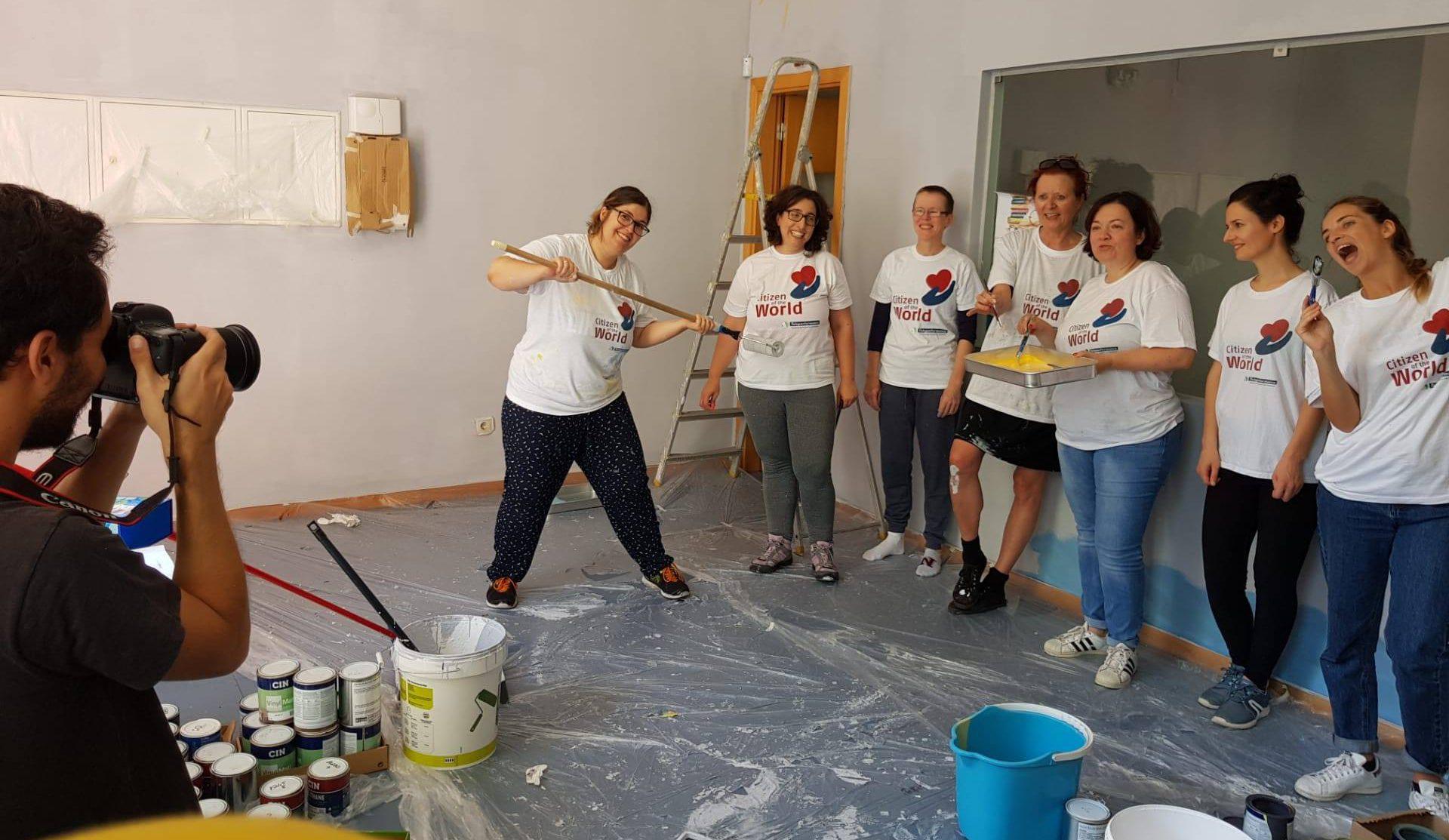 Cidadãos do mundo: ação de voluntariado
