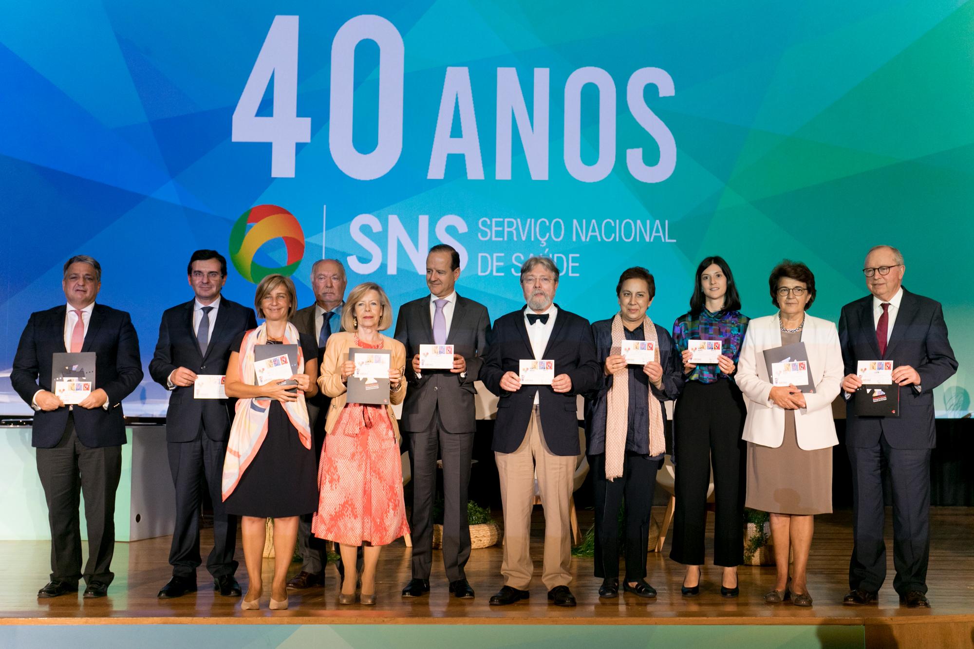 Comemorações do 40º aniversário do SNS