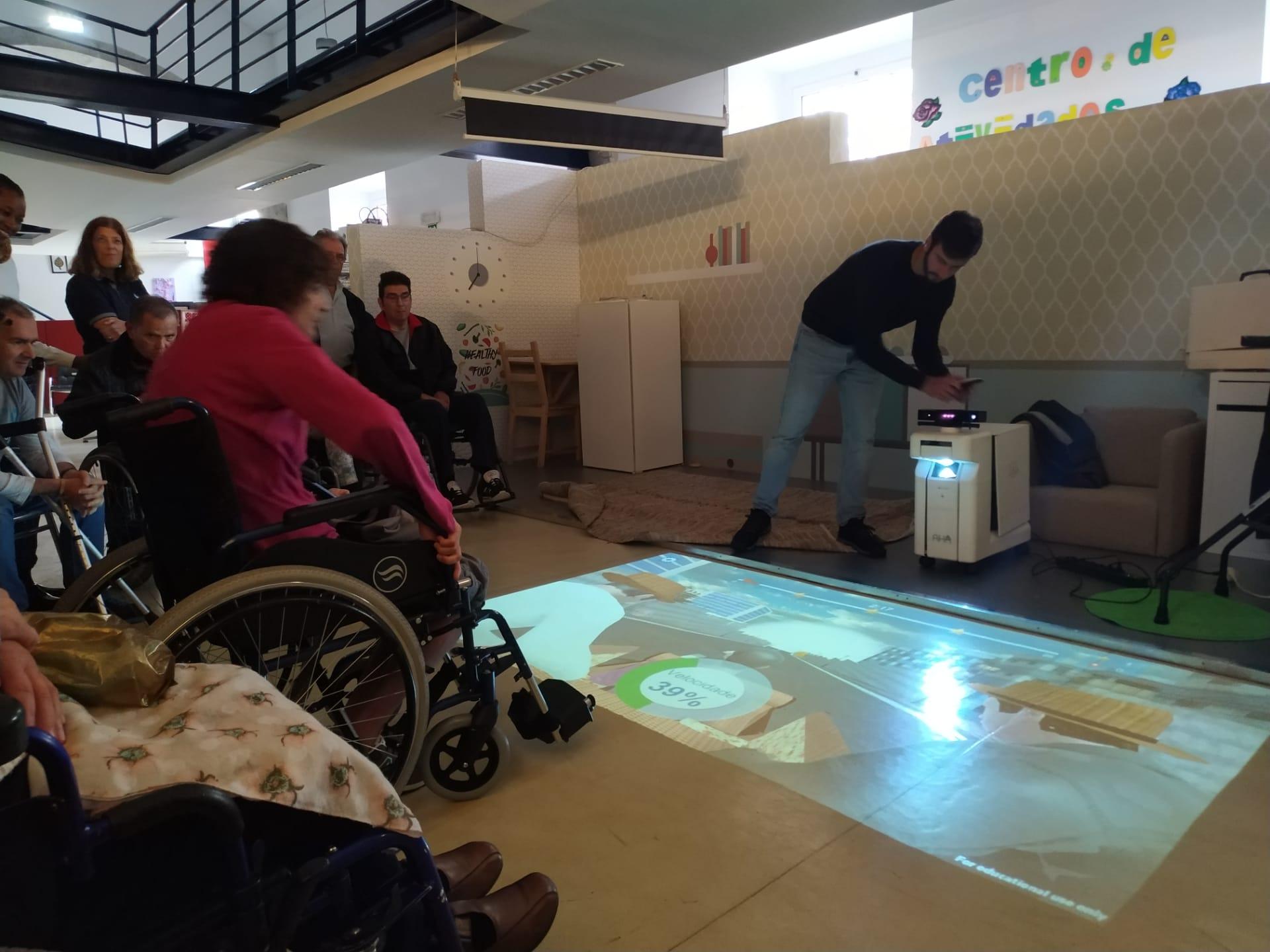 Tecnologia para reabilitação física interativa foi apresentada na SPEM